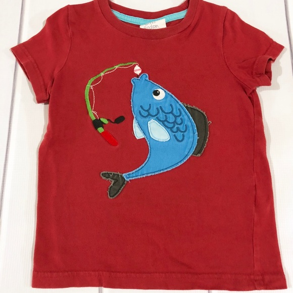 f8b384fc8 Mini Boden Shirts & Tops | 23 Yr Fishing Shirt | Poshmark